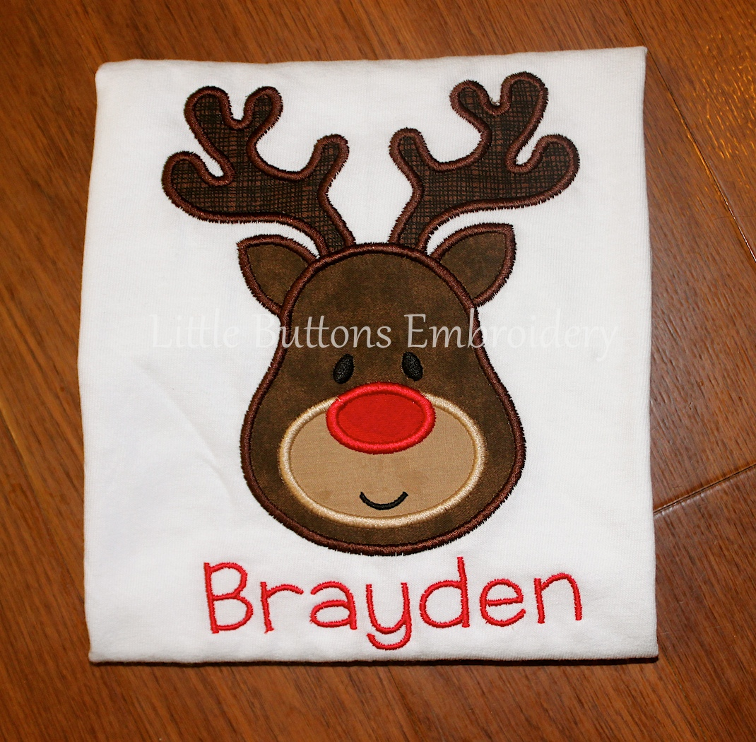 Reindeer Applique Tee